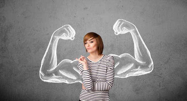Strength-woman-arms